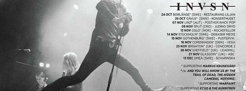 INVSN neue Tour